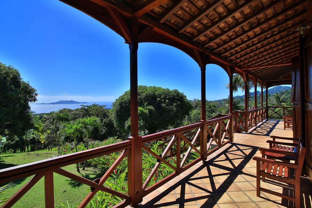 Terrasse - Maison Coloniale - Le Jardin Malanga